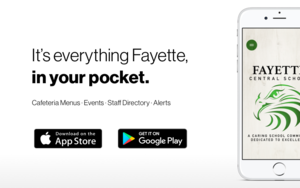 Announcing App for Fayette Central School!